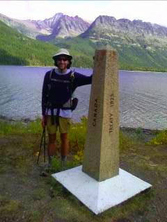 CDT northern terminus